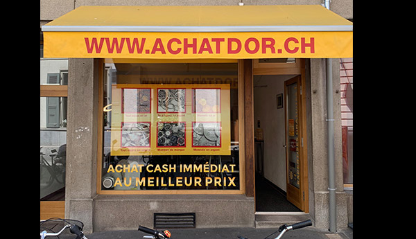 gold purchase shop in Vevey