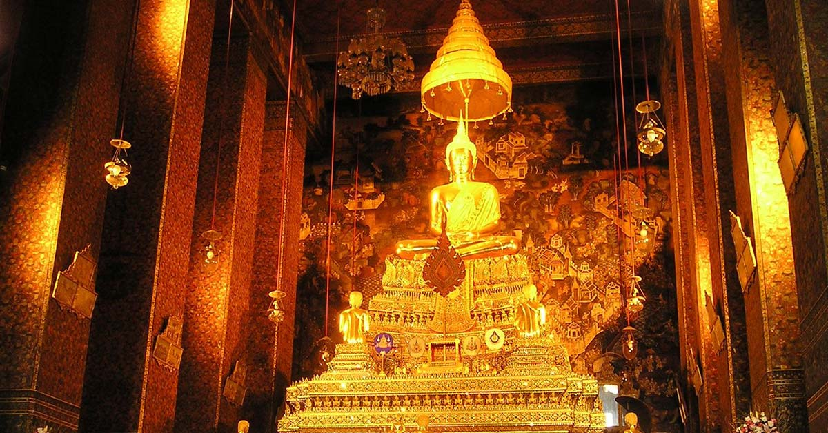 Gold profusion to celebrate a Hindu festival