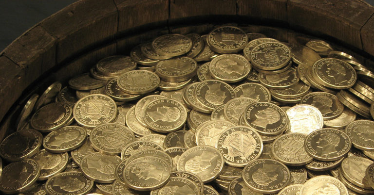 2000 gold and silver coins discovered in Burgundy