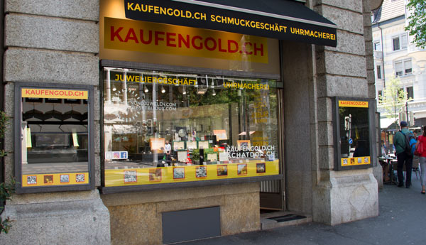 gold buying shop in Lucerne
