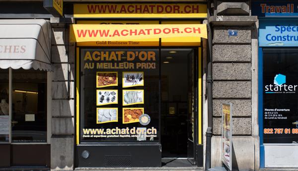 gold purchase shop in Geneva Eaux-vives