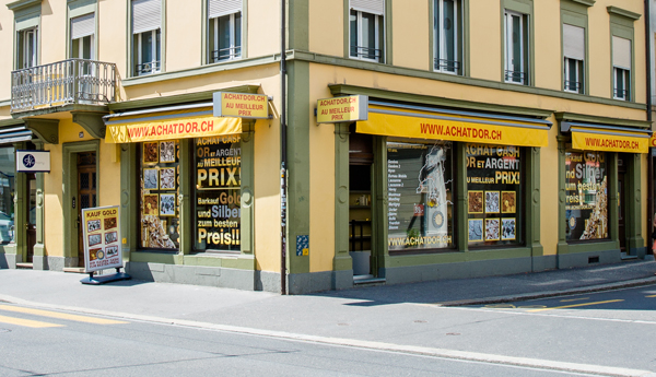 gold buying shop Biel