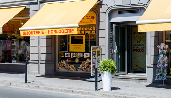 gold purchase shop Montreux Vaud