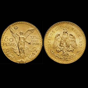 gold coins 50 pesos