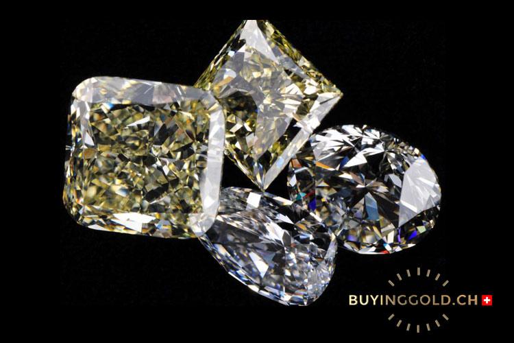 Gemstone diamonds
