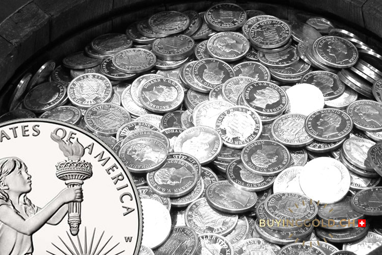 photo of platinum coins