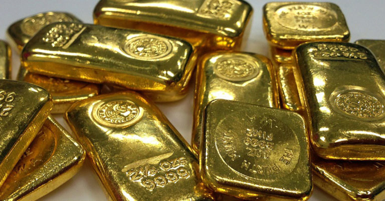 The gold standard, when finance was under gold's influence