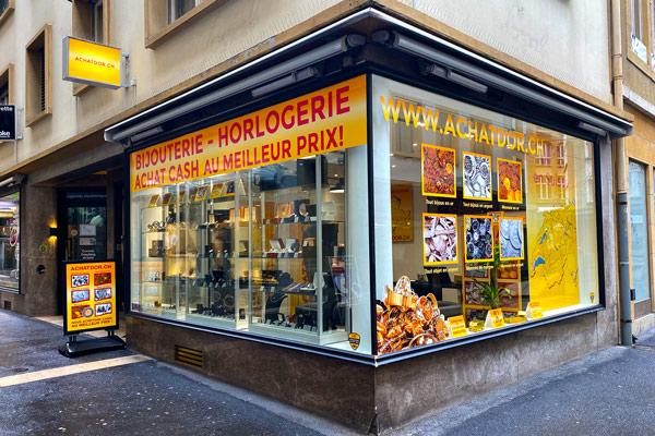 gold buying shop Neuchatel