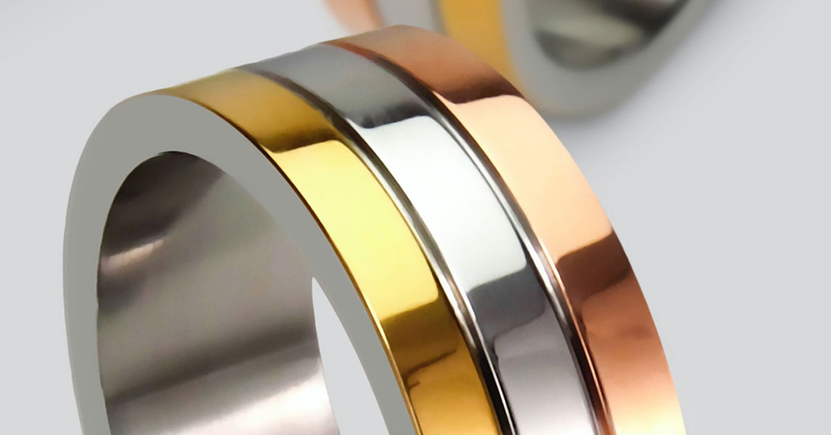 The different types of gold