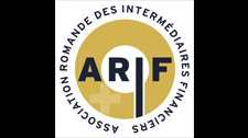 Website Romande Association of Financial Intermediaries (ARIF)